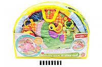 Детский развивающий коврик с погремушками для младенца FC0021