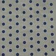 Водовідштовхувальна тканину, горошок сіро-синій, фото 2