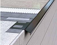 Профиль карниз для открытого балкона и террасы под плитку алюминиевый 2 м.п.