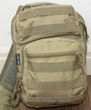 Тактическая сумка-рюкзак EDC однолямочная  фирмы Милтек