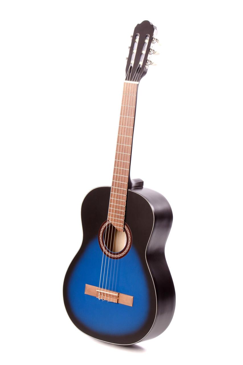 Классическая гитара TREMBITA E-5 BLUE BURST, фото 1
