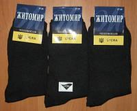 Житомирские носки мужские 41-45. Черные