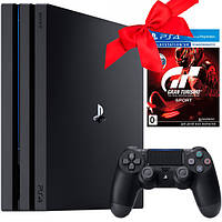 Sony PlayStation Pro 1Tb + диск GranTurismo VR PS4