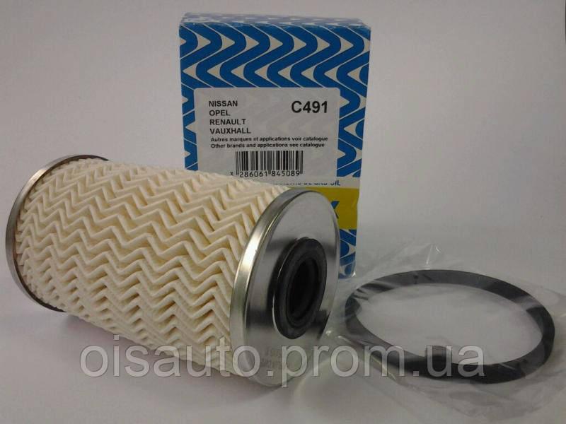 Фильтр палива PURFLUX  C491 /  7701207667 (Renault Trafic / Vivaro 1.9DCI)