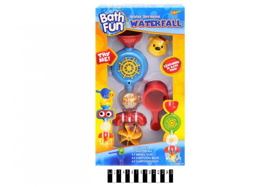 Набор для ванной игрушечный водопад, игрушка для купания 9907
