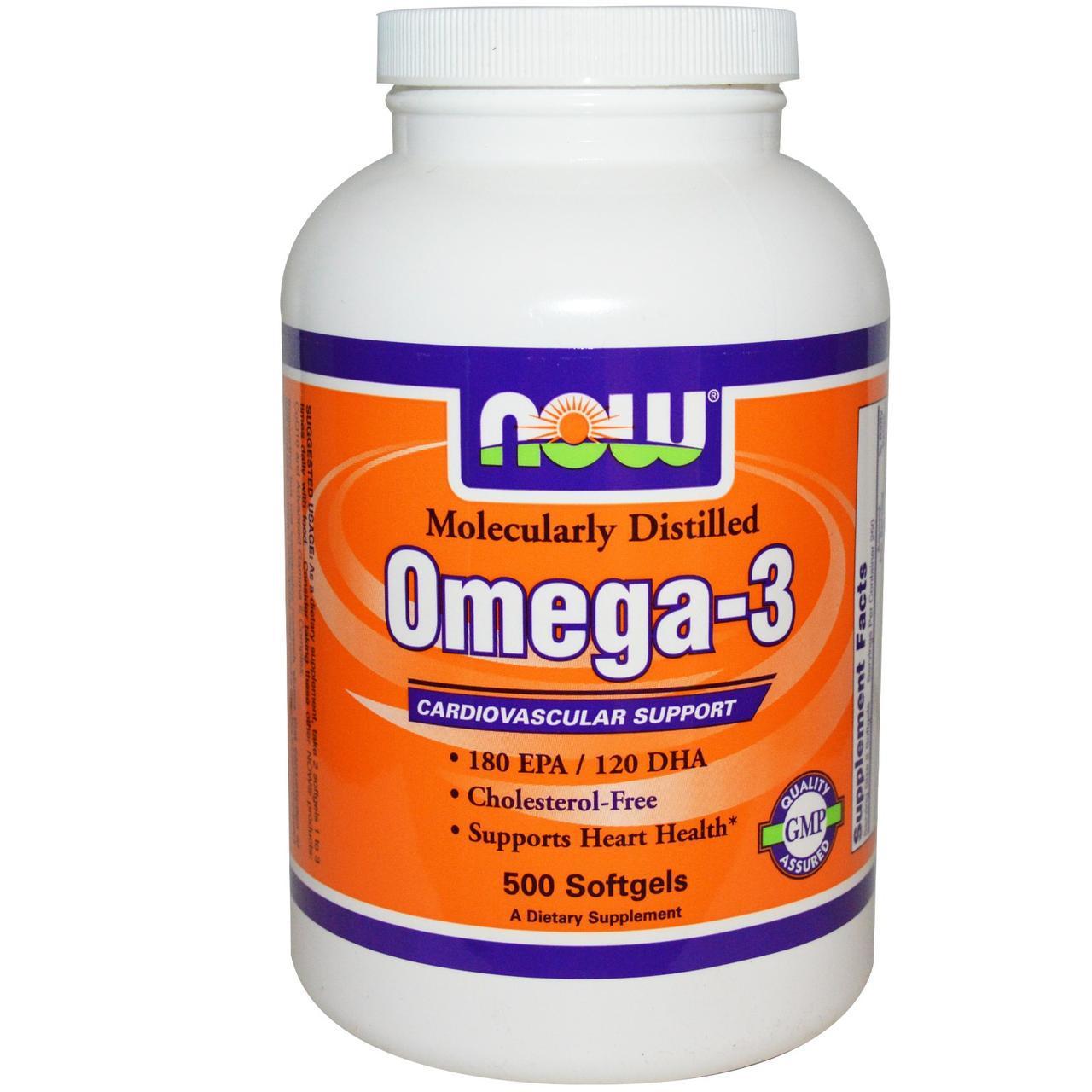 NOW Omega- 3 500 caps