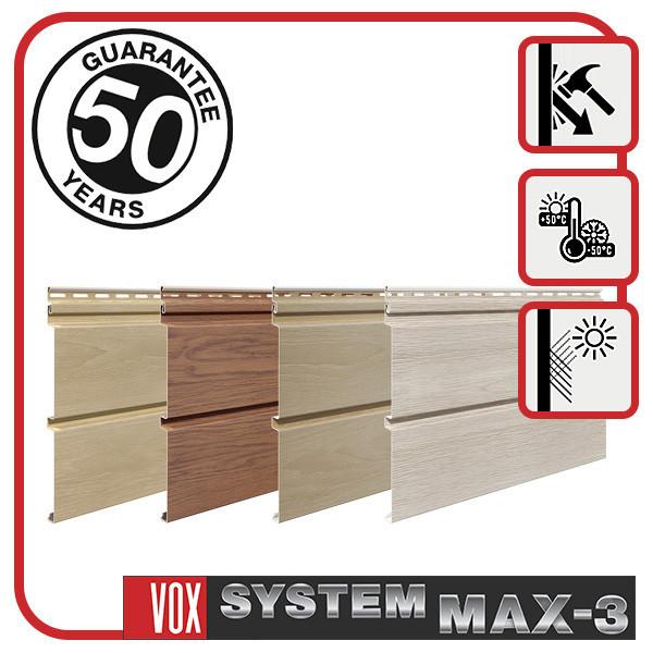 Сайдинг VOX SYSTEM MAX-3