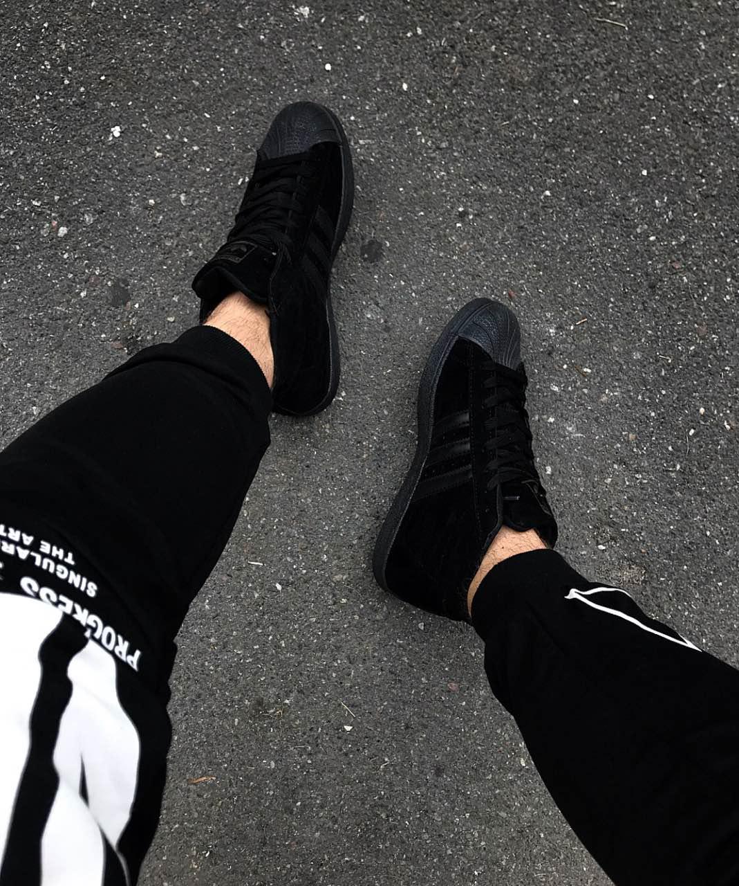 Кроссовки мужские Adidas Stan Smith D3711 черные