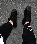 Кроссовки мужские Adidas Stan Smith D3711 черные, фото 2