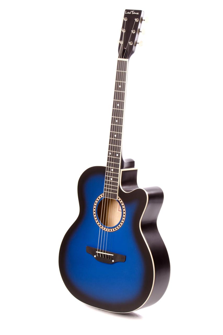 Акустическая гитара TREMBITA L-01 BLUE BURST, фото 1