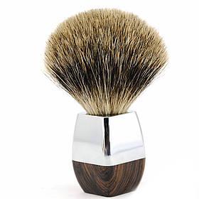 Помазок для гоління з борсучим ворсом NR0025