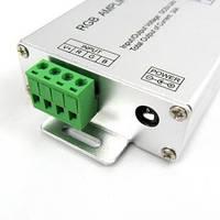 RGB LED усилитель сигнала 12A 144W 12V для светодиодной ленты. , фото 1