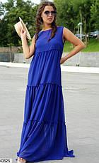 Женское платье шифоновое в пол размеры:42-48, 48-52, фото 3