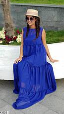 Женское платье шифоновое в пол размеры:42-48, 48-52, фото 2