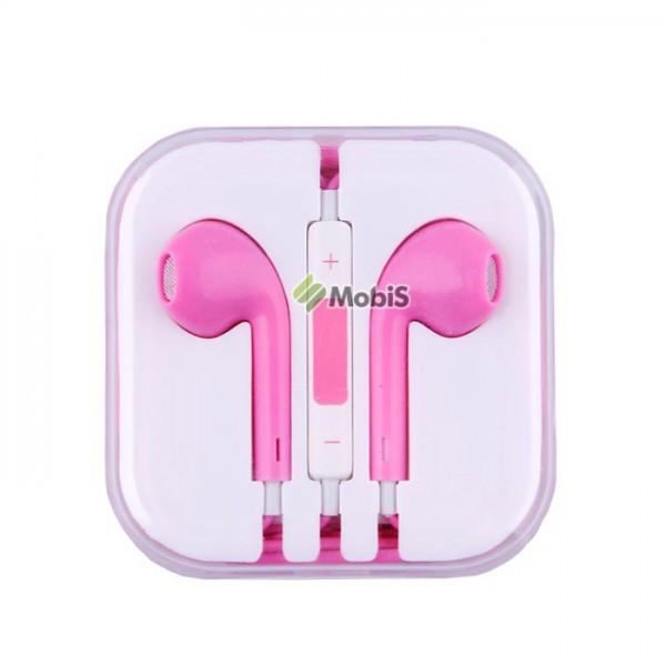Наушники не вак. iPhone 5 Pink (Код: 90075)