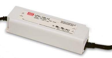 Блок живлення LPV-150-24 MEAN WELL 24вольт 150вт герметичний IP67 7705