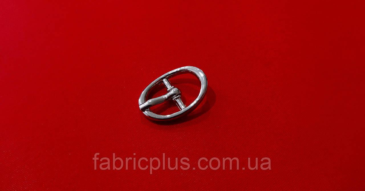 Металева Пряжка 10 мм нікель