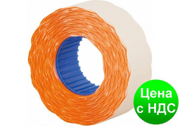 Этикетки-ценники фигурные 22х12 мм Economix, 1000 шт/рул., оранжевые E21303-06, фото 2