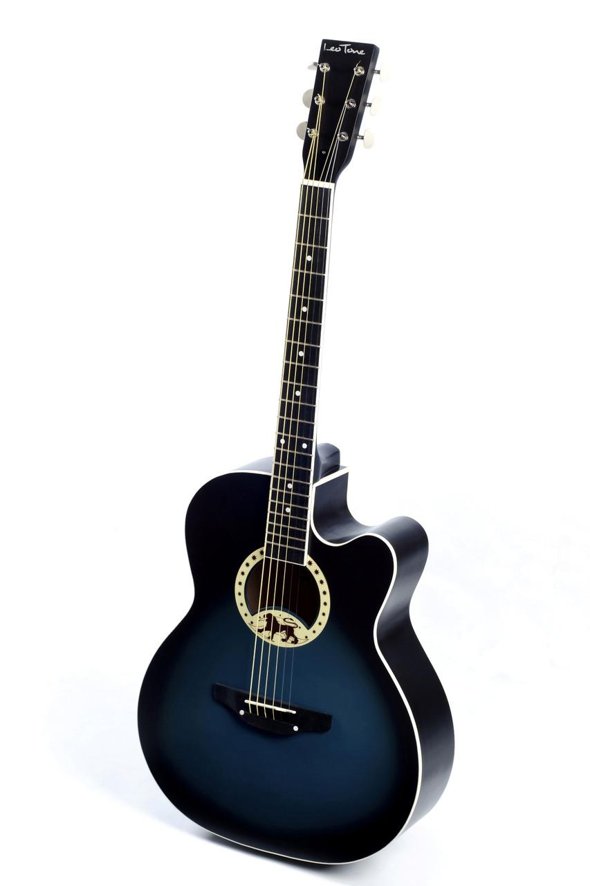Акустическая гитара TREMBITA L-17 BLUE BURST, фото 1