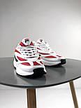 Женские кроссовки Fila Venom white/red. Натуральная кожа. Живое фото (Реплика ААА+), фото 5