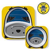 Набор тарелочек Skip Hop для мальчиков (США)