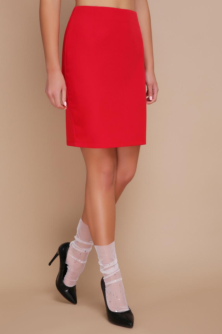 Короткая красная юбка, фото 1