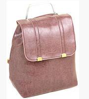 Женский рюкзак сумка ALEX RAI 7-01 9934 purple, фото 1