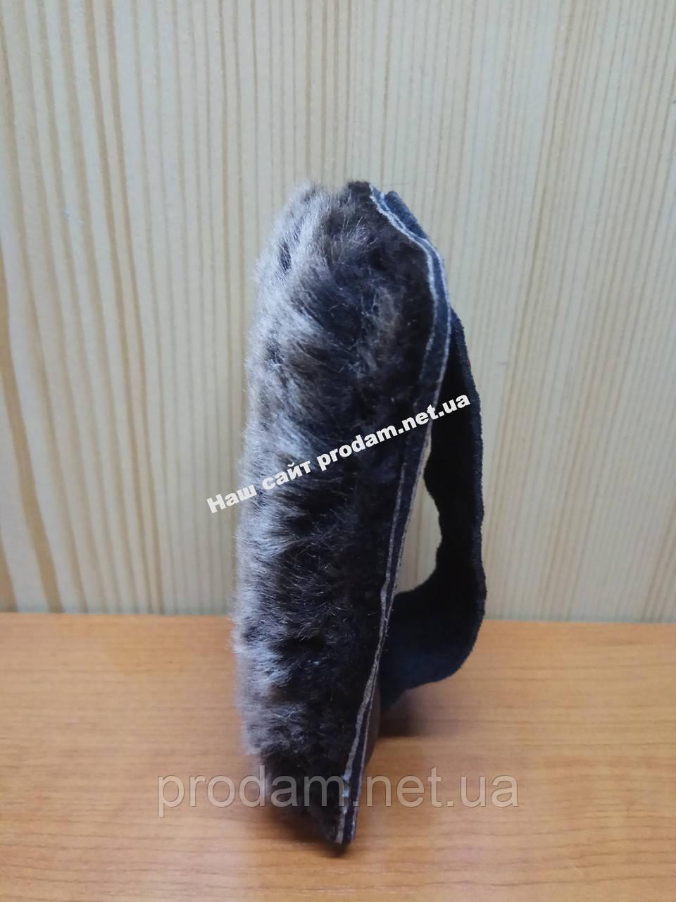 Меховая бархотка для полировки обуви