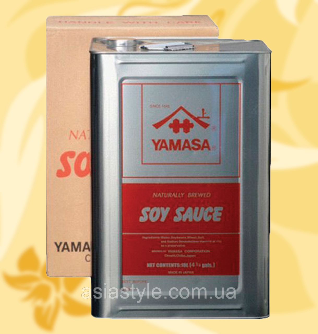Соус соєвий класичний, Ямаса, преміум, Soy Sauce Premium, Yamasa, 18l, жб, Мо
