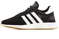 Мужские кроссовки Adidas Iniki Runner Black/White/Gum