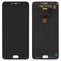 Дисплей (экран) для Meizu M3x (M682) + тачскрин, черный