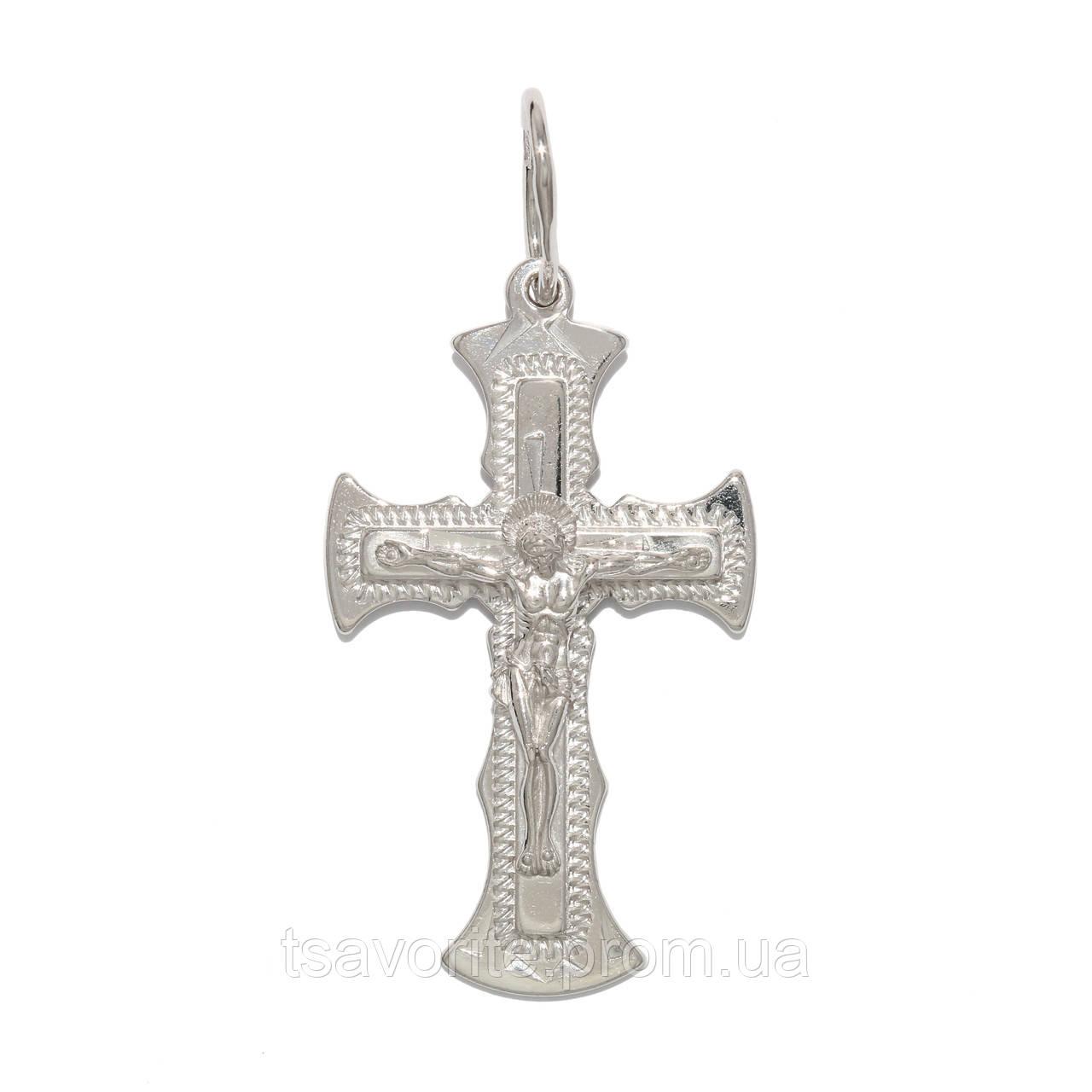 Серебряный крестик 3230-Р