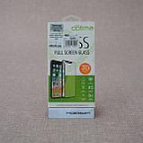 Захисне скло Optima 3D Samsung J2 Pro J250 white, фото 2