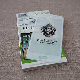 Защитное стекло Optima 3D Samsung Galaxy J2 Pro J250 white