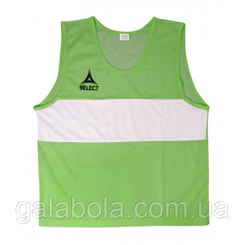 Манишка тренировочная SELECT Standart (зеленая)