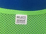 Манишка тренировочная SELECT Standart (зеленая), фото 5