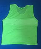 Манишка тренировочная SELECT Standart (зеленая), фото 4