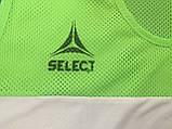 Манишка тренировочная SELECT Standart (зеленая), фото 3