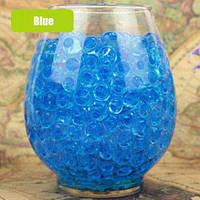 Гидрогель, шарики гелиевые, 250шт, диаметр 1см, цвет Голубой