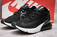 Кроссовки женские Nike Air 270, черные (13741) размеры в наличии ► [  36 37 38  ] (реплика), фото 1