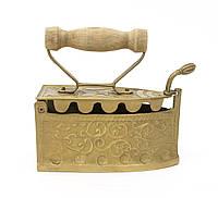 Бронзовый утюжок шкатулка, бронза, Германия, большой, фото 1