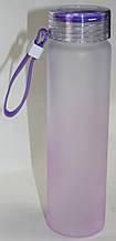Бутылка пластиковая для напитков, бело-розовая, Hello Master, 500 мл