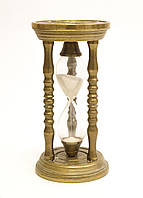 Старые бронзовые песочные часы, бронза, Германия, фото 1