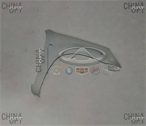 Крыло переднее правое, Chery Tiggo [2.4, до 2010г.,AT], T11-8403702-DY, Aftermarket