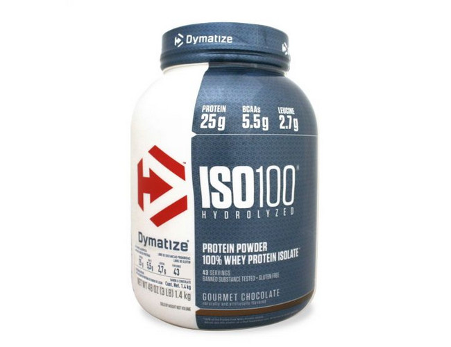 Протеин Dymatize Nutrition ISO 100 1.4 кг