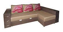Кутовий диван на пружинному блоці Магнат