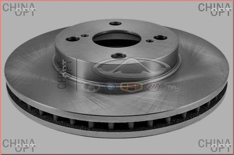 Диск тормозной передний, BYD F3R [1.5,HB], BYDF3-3501102, Nipparts