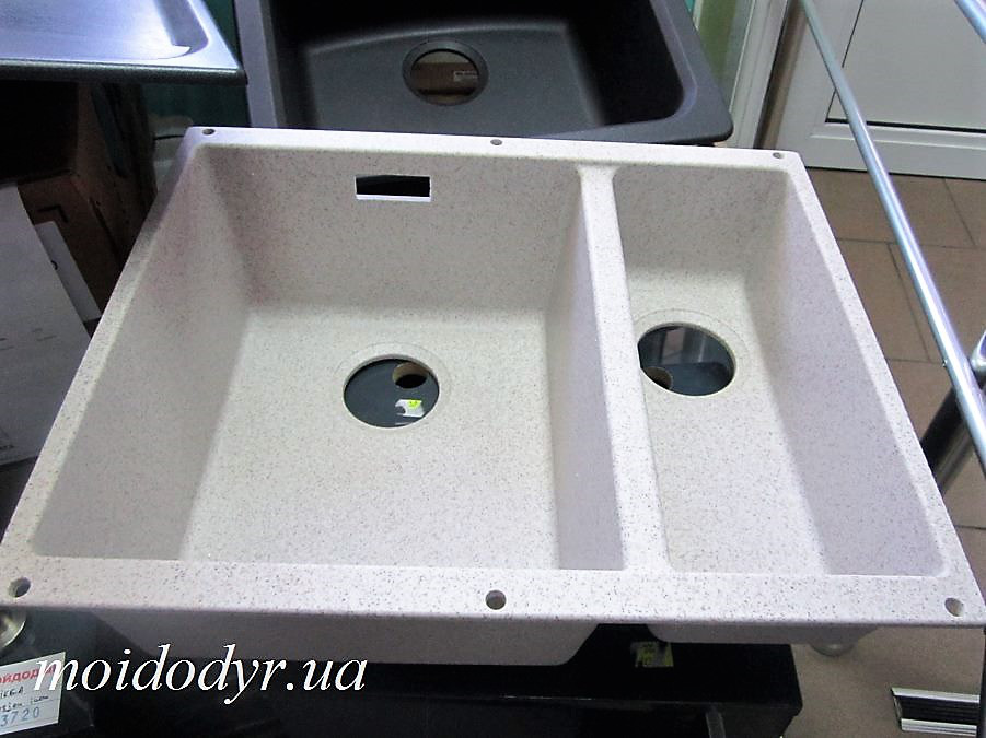 Гранитная кухонная мойка Blanco Subline 340/160U (песочный)