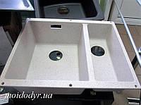 Гранитная кухонная мойка Blanco Subline 340/160U (песочный), фото 1