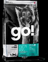 Go! (Гоу) FIT+FREE 4 вида мяса - беззерновой холистик-корм для щенков и собак (индейка/курица/утка/форель)